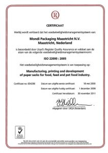 Mondi-Maastricht-d-3-cert-ISO-22000-food-packaging-paper-sacks