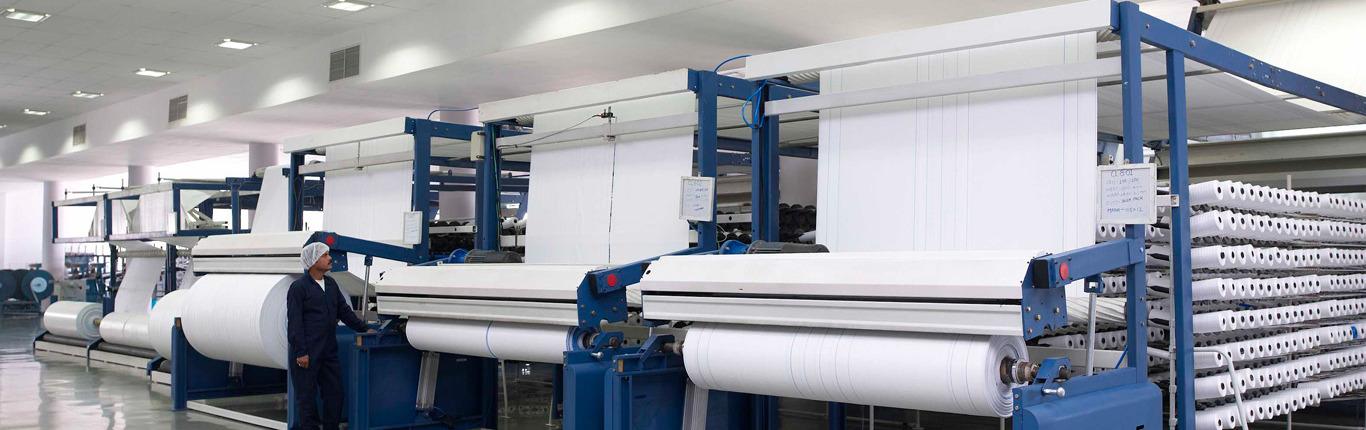 FIBC-Weaving-and-Ultrasonic-Cutting-Facility