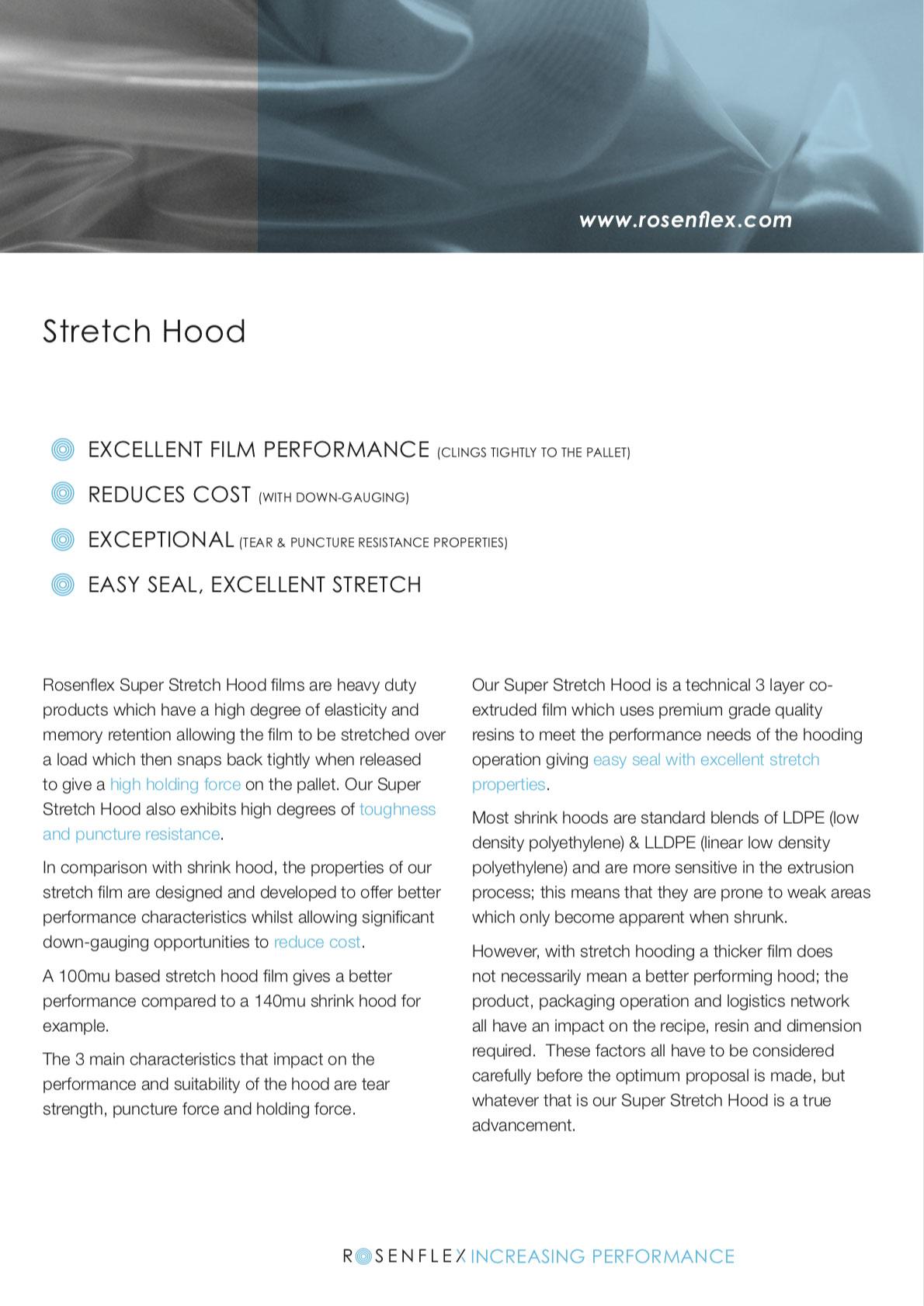 Stretch-hood
